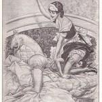 Les Confidences de Chérubin: French vintage spanking