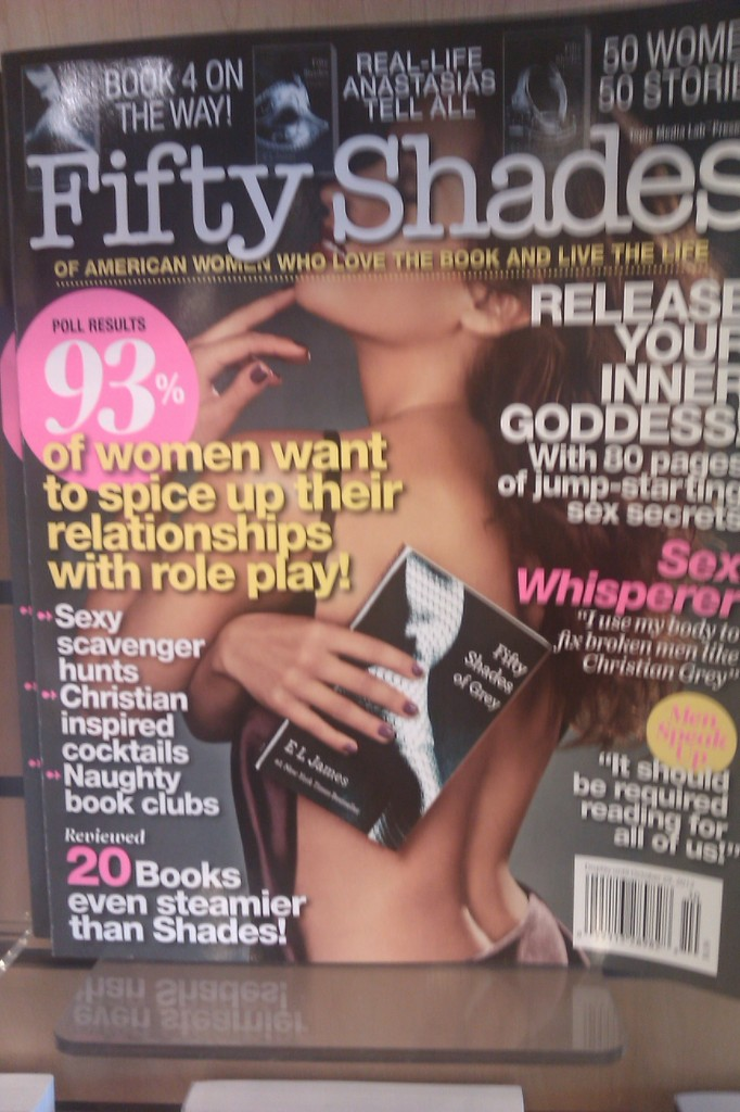 Fifty Shades of Grey magazine