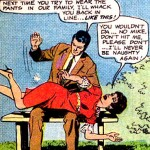 """I never strike a lady in the usual sense of the word!"": vintage comics spankings"