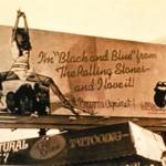"Bondage billboard for Rolling Stones' ""Black and Blue"", 1976"