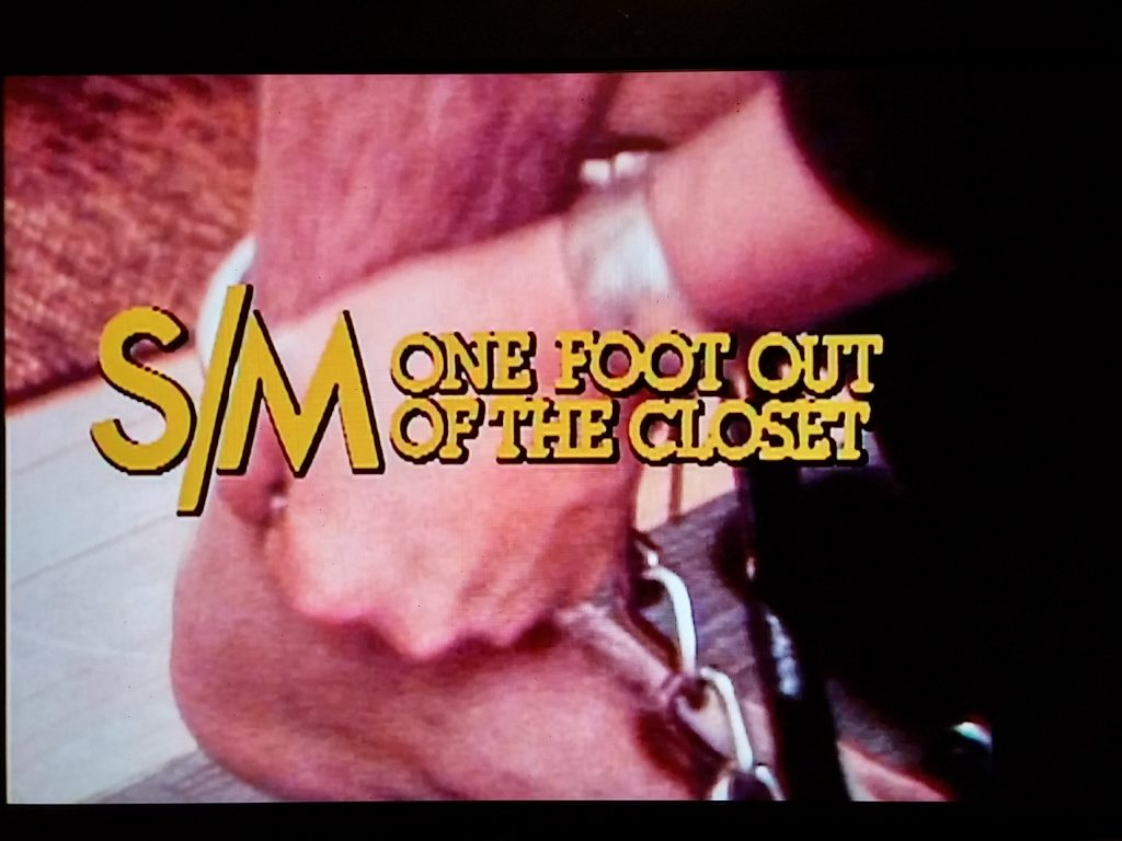 SM One Foot Out Of The Closet 1980