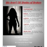 We Aren't 50 Shades of Broken: colloquium on BDSM and the mainstream. February 23rd